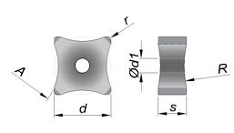 Star Tecnologia - Insertos de Remoção Externa - SNMX
